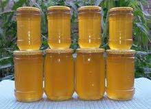 عسل طبيعي 100%...ودهن حر (للبيع )