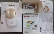 جهاز الليزر المنزلي لإزالة الشعر بصورة دائمة Beurer IPL 7000