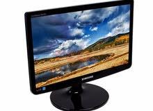 Monitor LED Samsung Widescreen 18.5 شاشة سامسونج ليد