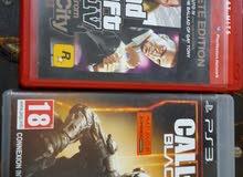 gta iv and call of duty black ops 3 للبيع