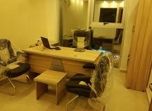 غرف مكتبية مفروشة للايجار ولاصدار رخصة مهن- عمان