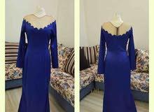 فستان سهرة استعمال بسيط
