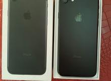 آيفون 7 iPhone ذاكرة 32 لون أسود طافي