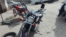لبيع دراجة اهارلي نضيفة كلش