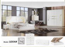 للبيع غرفة نوم جديدة وراقية رقم الموديل 1004
