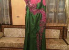 فستان سهرة مستعمل للبيع