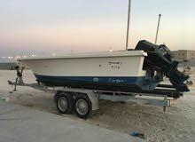طراد زورق قارب الروضان للبيع مستعجل