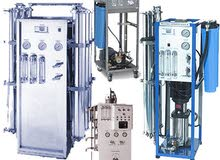 محطات تحلية مياه الابار والمياه المنزلية الكاملة