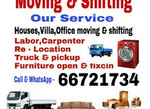 Moving & shifting carpenter truck pickup 66721734 what's app