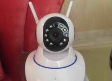 كاميرا مراقبة تحكم بالجوال في اي مكان بالعالم