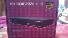 ستلايت HD BOX 2020 الاصلي نظيف جدا مع باكيت وملحقات .