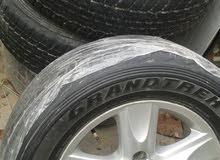 hi I am selling grandtrek brand 4 tires with wheels 2014 model