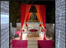 Wedding Stage Backdrops & Fabric Drapery ( Kosha ) by Mohsin Events Services