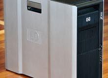 HP WORKSTATION Z800 XEON X5560 كور4 ×2 رمات 24 هارد 1000