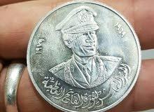 5 قطع دينار فضي للبيع