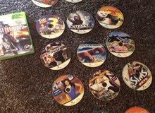 18 cd Xbox 360 + كنترول
