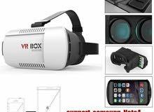 نظارة في ار بوكس ثلاثية الابعاد المحاكية للواقع الافتراضي