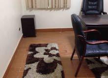 للايجار مكتب مفروش غرفة ورسبشن او غرفتين ورسبشن
