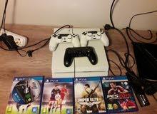 PS4 ابيض للبيع