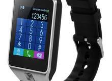 ساعة ذكية - شريحة وكاميرا وذاكرة وشاشة لمس - جديدة DZ