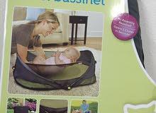 سرير اطفال سهل الاستخدام