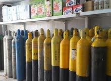 توزيع وتوريد غازات لحام وجميع الغازات الاخرى