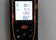 متر الكتروني  باستخدام الليزر دقة عالية جداً مسافة القياس 80 متر