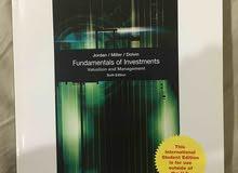 fundamentals of investment للبيع كتاب