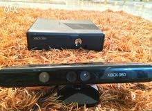 للبيع اكس بوكس سلم 360 معدل هارد 250 جيجا وارد الخارج معاة دراعين اورجنال وكامير