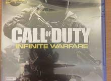 Call of duty infinite warfare  للبيع او للبدل على uncharted 4