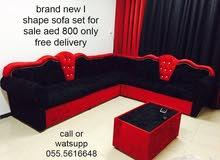 مجموعة L على شكل أريكة العلامة التجارية الجديدة للبيع 900 درهم فقط مع خدمة التوصيل إلى المنازل مجانا