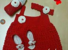 فستان بيبي او كرافيه اطفال