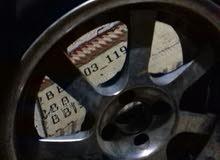4 جنوط سبور 16R يالكاوتش  4 مسمار للبيع