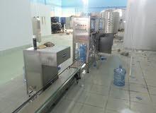 ماكينات تعبئة مياه ( كاسات ، قوارير ، زجاجات ) للبيع