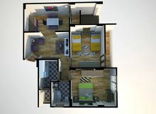 شقة للبيع 78م باسيوط