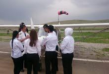كورس هندسة صيانة الطائرات في اكاديمية بازرعا للطيران / كردستان....