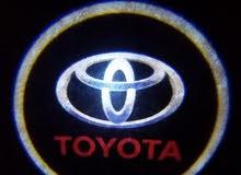 اضاءة ابواب لجميع سيارات تويوتا