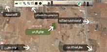 قطع أراضي مميزة في القسطل - طريق المطار بمساحة أربعة دونمات