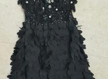 فستان سهرة اسود