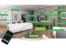 Wireless Smart house device تحكم في الادوات الكهربائية باستخدام الهاتف الذكي