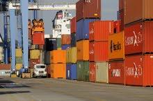 حاويات شحن فارغة للتخزين 40 و20 قدم مع البيان الجمركي