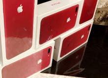 ايفون 7 بلس 128 اللون الاحمر الجديد اصدار خاص اصلي
