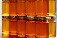 عسل طبيعي 100% علاجات لامراض السكري والقلب وغيرها للبيع 0799790606