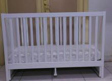 سرير طفل من ايكيا مع مرتبه ايكيا
