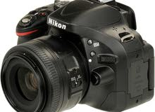 كاميرا نيكون D5200 دي5200 + عدسة 50مم