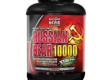 بروتين الدب الروسي ١٠٠٠٠ ماس قينر Russian Bear 10000 Mass Gainer