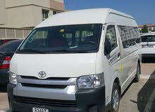 hiace bus for rent model 2014