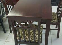 طاولات طعام خشب ماليزي جديدة