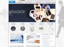 خدمة تصميم المواقع الإلكترونية