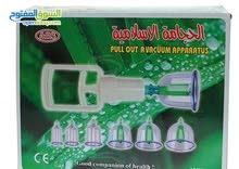 جهاز حجامة مكون من 6 كاس او كوب لعلاج الامراض